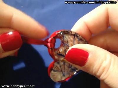 Collana con pendente in vetro | Perline per Principianti - HobbyPerline.it