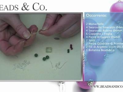 """Creazione Orecchini """"Speranza"""" - Tutorial Beads&Co - Lezione 20"""