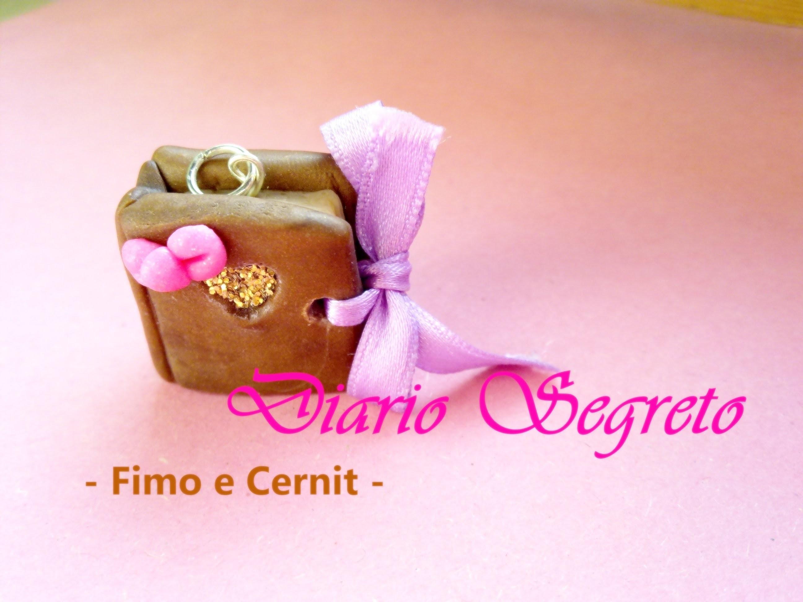 Diario Segreto: Charm in Fimo e Cernit (Secret Diary Charm: Polymer Clay Tutorial) ◦°°◦˚♥