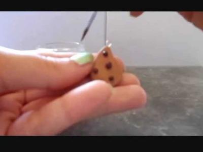 """Polymer clay tutorial: Biscuit """"Gocciola"""" ~ Fimo tutorial: Gocciole"""