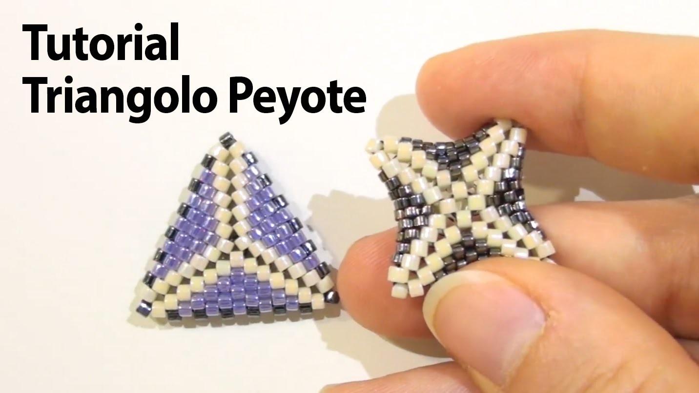 Sarubbest: tutorial triangolo con la tecnica Peyote e altre informazioni sul quadrato Sarubbest