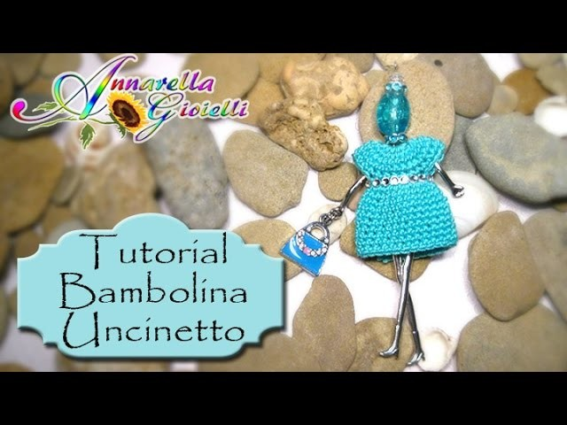 Tutorial Bambolina all'Uncinetto | Lei è Isotta | How to crochet a necklace doll