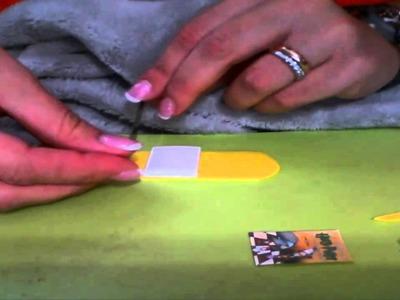 Tutorial mini libro (BOOK) fimo cernit polymer clay HARRY POTTER