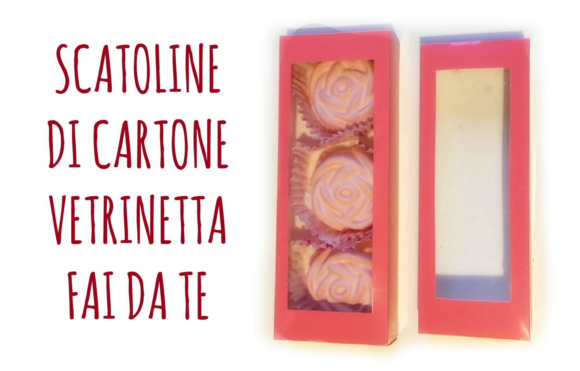 """Come fare Scatoline di Cartone """"Vetrinetta"""" perfette! (Party.D.I.Y.) Arte per Te"""