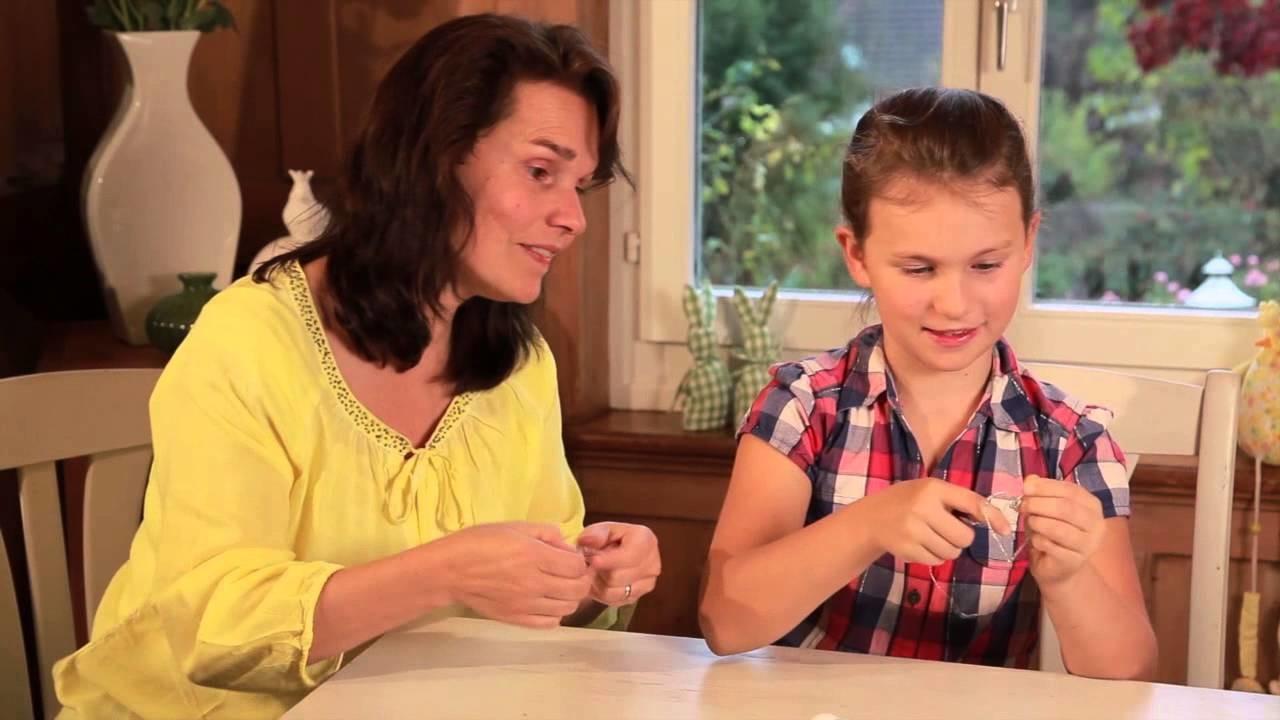 Famigros: fare un cuore di fil di ferro per Pasqua
