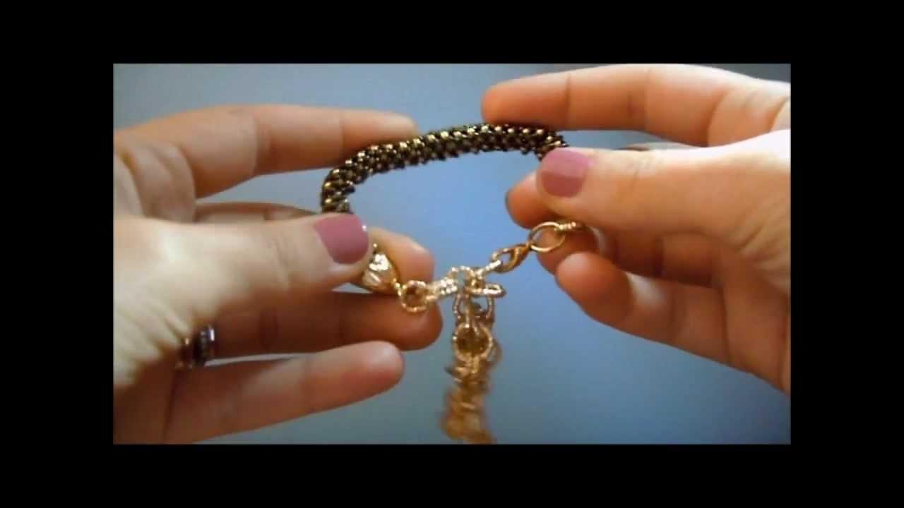 Bijoux handmade: review creazioni di settembre.wmv