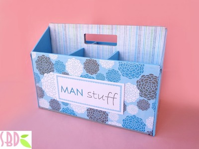 Cassetta porta attrezzi maschile - Masculine tool holder box