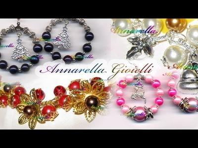 Creazioni di Natale | Bracciali orecchini & Co. | Christmas handmade jewelry