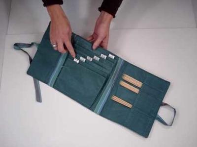 Della Q Combo Sock Needle Case
