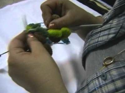 Lavorazione lana pon pon