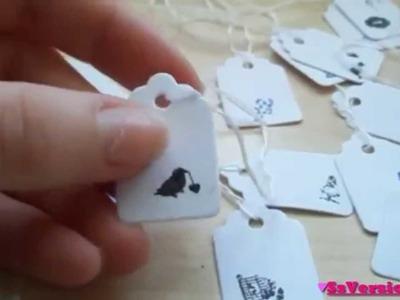 Tutorial: Decorare la carta con gli smalti e gli stampini per Nail Art
