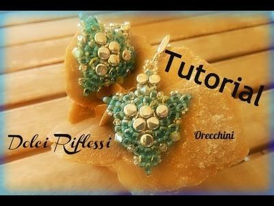 """TUTORIAL: Orecchini di Ferragosto Estate 2013 con  """"Pellet"""" e twin della Preciosa"""