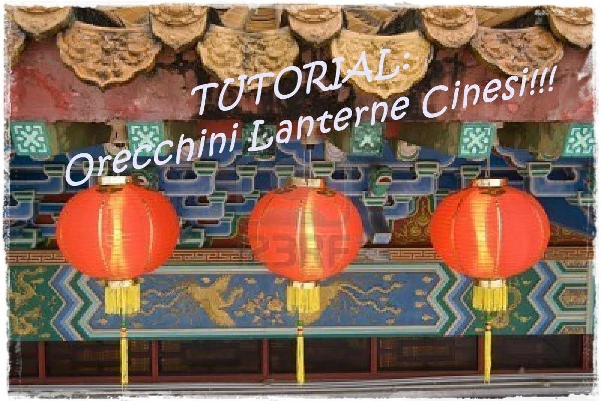 """Tutorial Orecchini """"Lanterne Cinesi""""-Parte 1.2"""