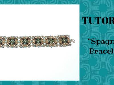 """Tutorial perline: come realizzare un bracciale """"Spagna"""" con superduo e cipollotti"""