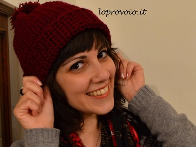 Cappello all'uncinetto più facile del mondo