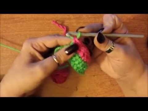 Come fare i cambi di colore all'uncinetto - tutorial scuola uncinetto