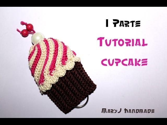 Cupcake all'uncinetto (Parte 1 di 2) | Crocheted cupcake (1 of 2)