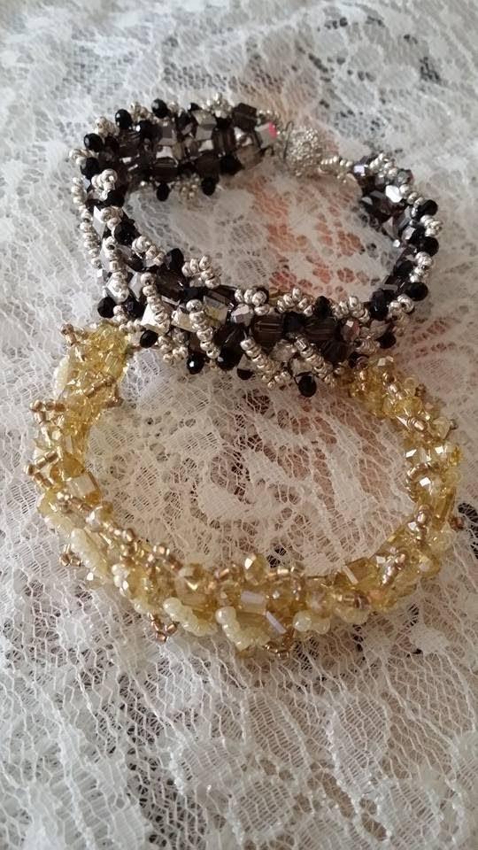 DIY - Bracciale Eleonora con cubetti di cristallo