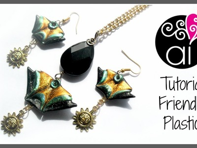 Friendly Plastic Tutorial | Triangoli | Componenti Decorativi per bijoux