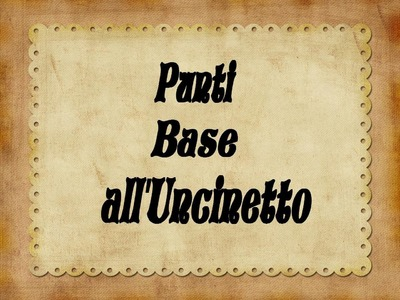 Punti Base all'Uncinetto La Maglia Bassa - Single Crochet Stitch (ENG SUBS)