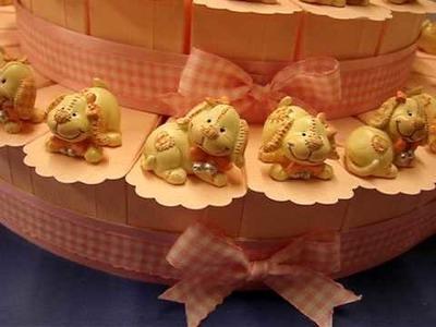 Torta Bomboniera cod. 025 - Cani di pezza