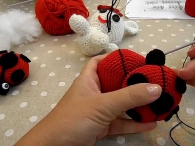 Tutorial: Coccinella in amigurumi