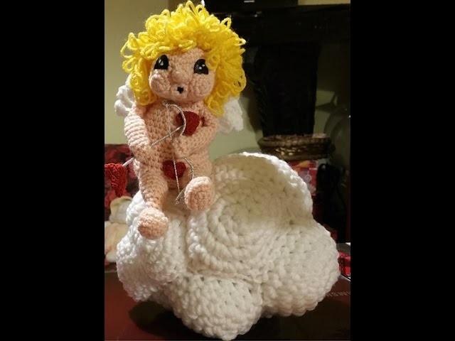 Tutorial Cupido San Valentino amigurumi uncinetto - parte III  -Cupid crocheted - Cupido ganchillo