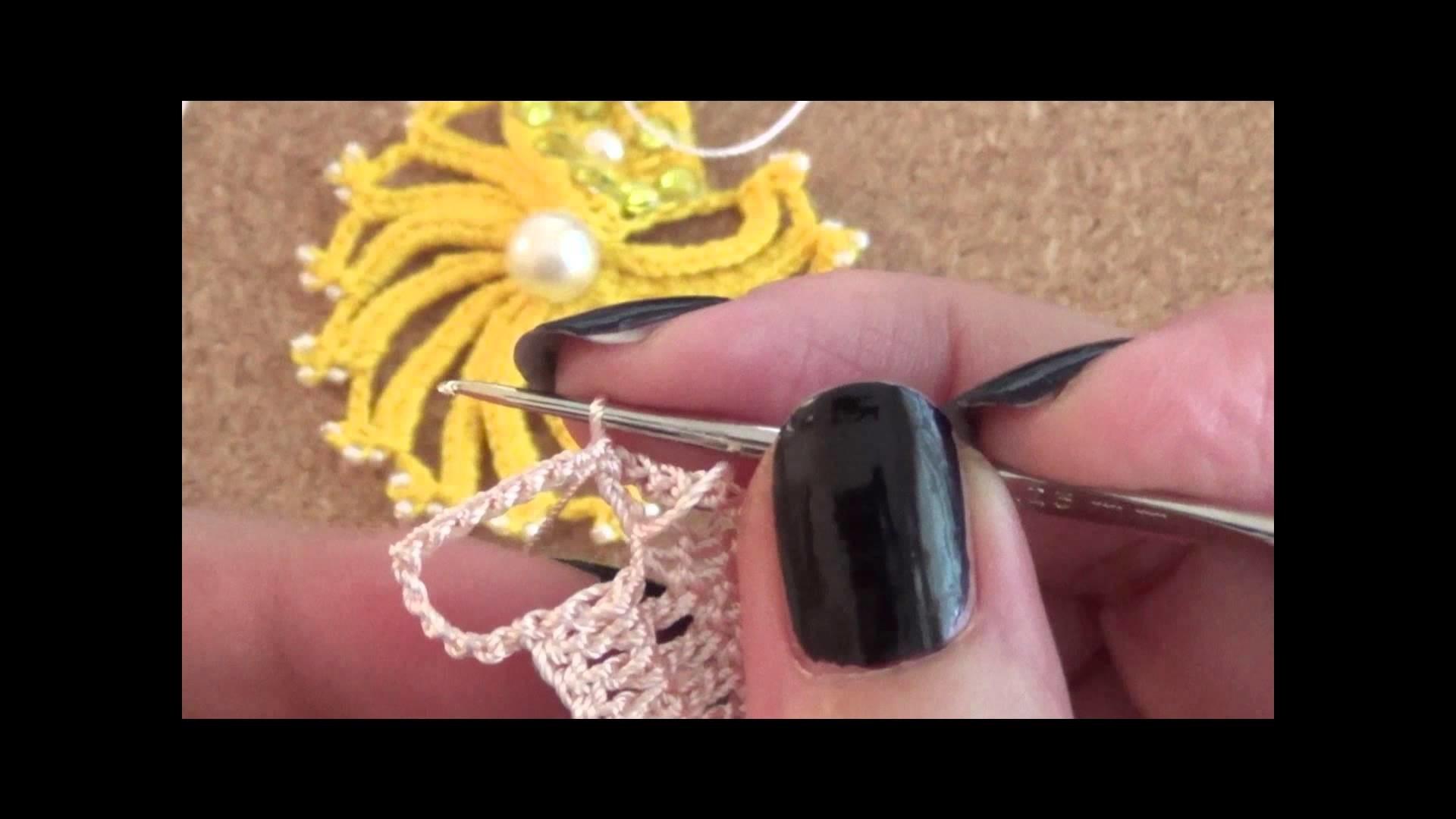 Tutorial: Orecchini raggi - Earrings Beams