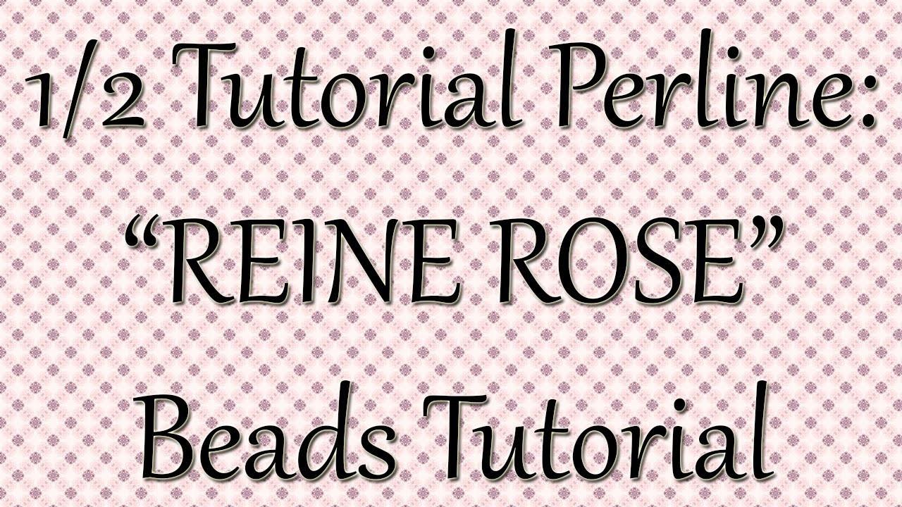 Tutorial perline: stella REINE ROSE 1^ parte. Tutorial principianti