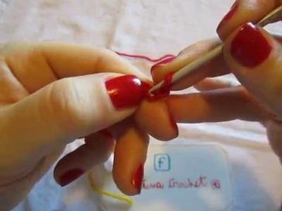 """Uncinetto, lezione n.2  """"MAGLIA BASSA"""" by Valentina Crochet"""
