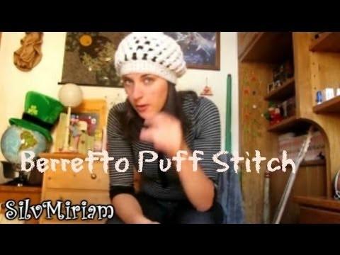 Tutorial Puff-stitch - berretto all'uncinetto