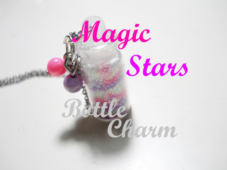 Magic Stars ✩ Bottle Charm ✫♡✫ How to - Tutorial