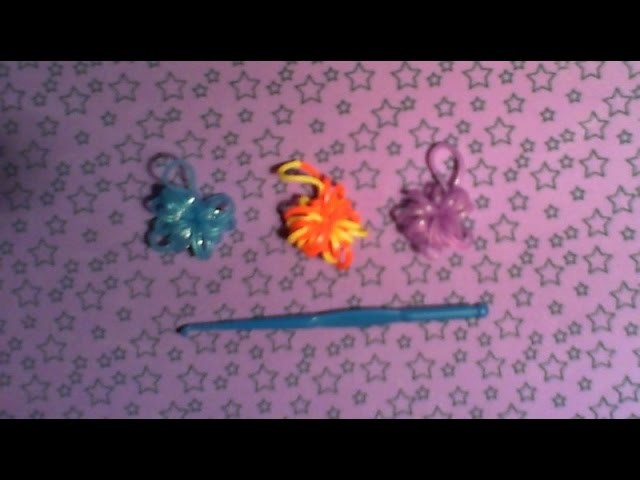 Tutorial semplice elastici rainbow loom bands! Piccolo charm senza telaio