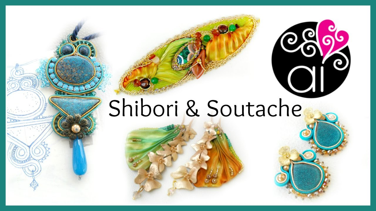 Shibori Ribbon - Embroidery Beadworks  - Soutache - Creations Update 2