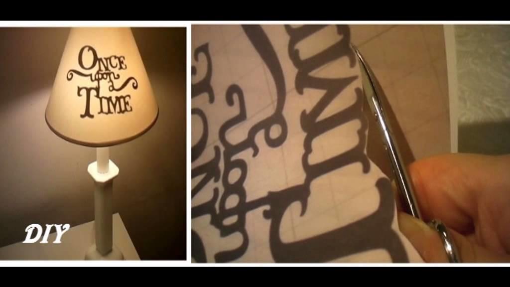 DIY  Lampada Once Upon a Time