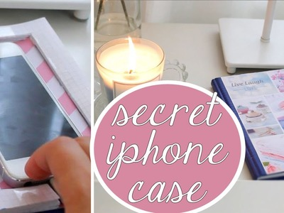 Easy DIY - Secret phone cover \\