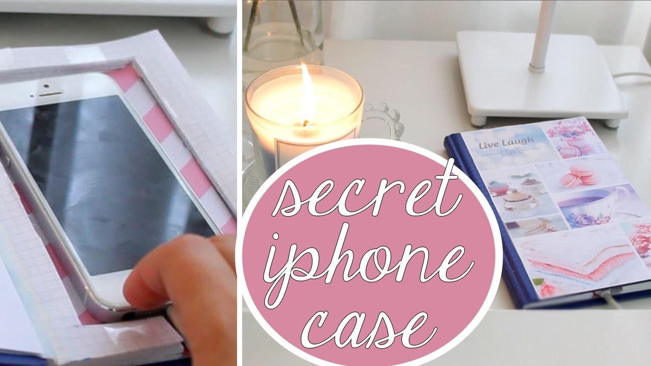 Easy DIY - Secret phone cover \\