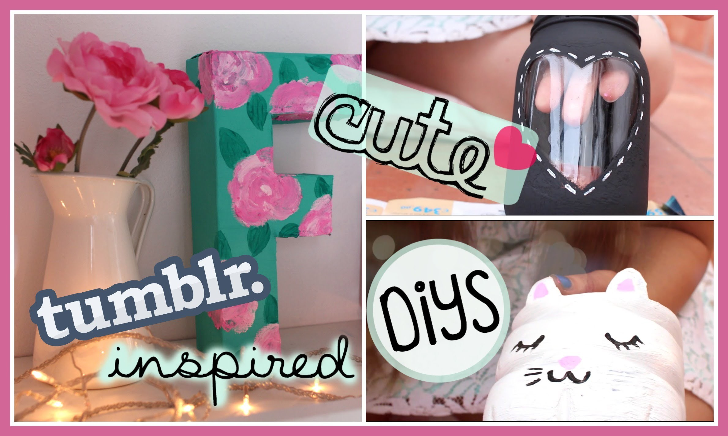 Summer Tumblr Inspired DIYS !!