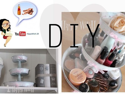 DIY: Vassoio porta dolci.make up FAI DA TE