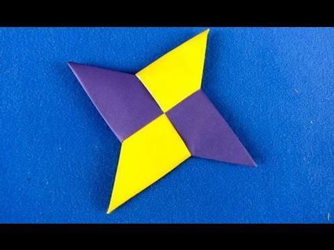 How to make Stella paper  Ninja star shuriken