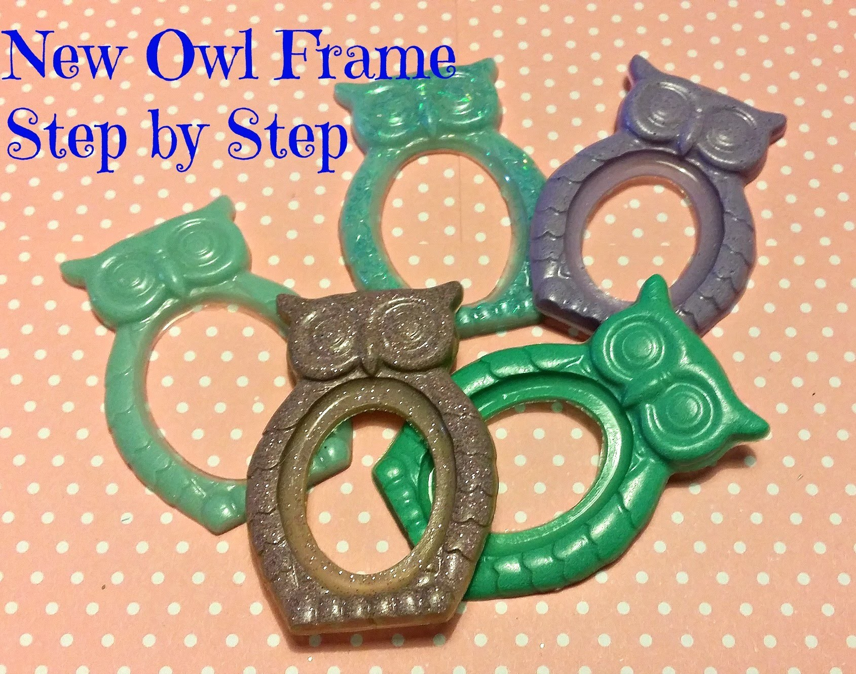 New Owl frame ** Tutorial Step by Step