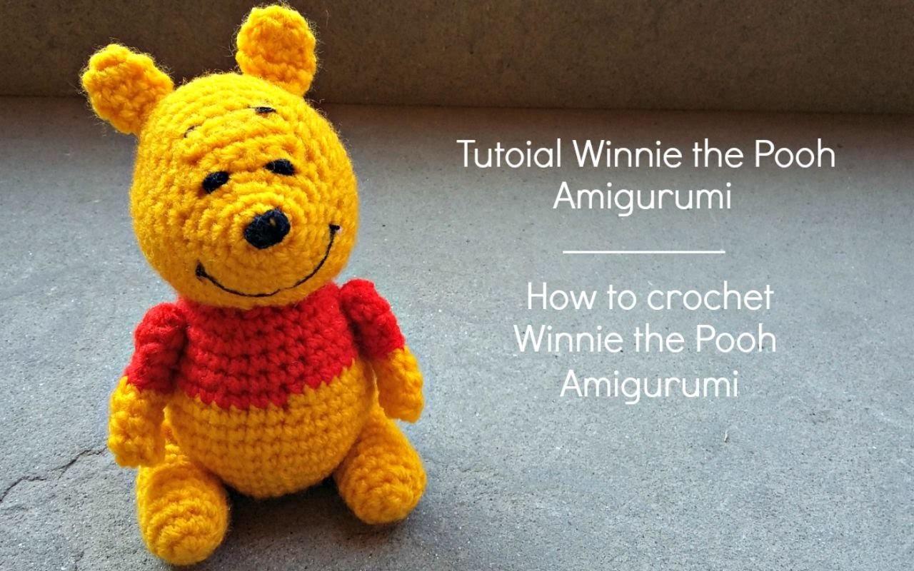 How To Crochet A Amigurumi : Tutorial Winnie the Pooh Amigurumi, How to crochet Winnie ...