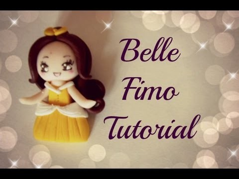 ♡ Belle in fimo - Tutorial ♡