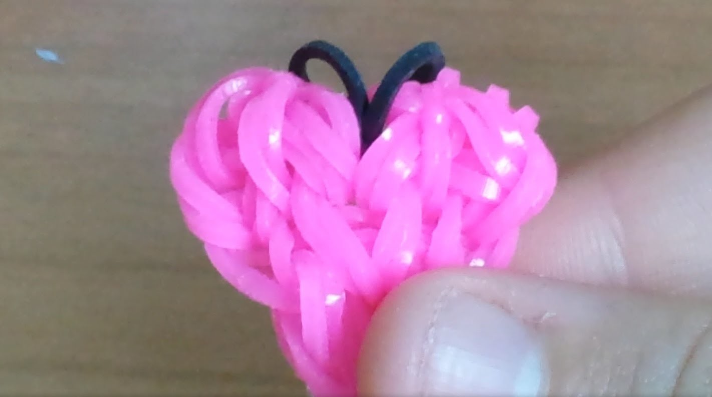 Cuore loom bands (tutorial)