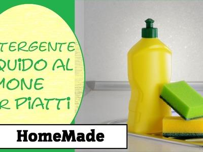 DIY - Detergente al Limone per piatti fai da te