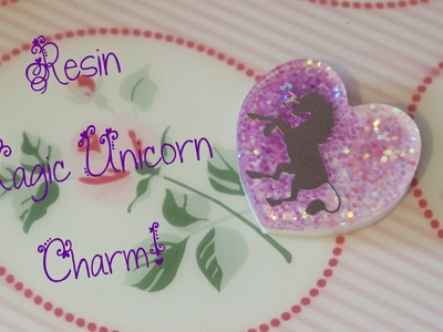 DIY Resin Tutorial: Fantasy Unicorn Charm! ♞