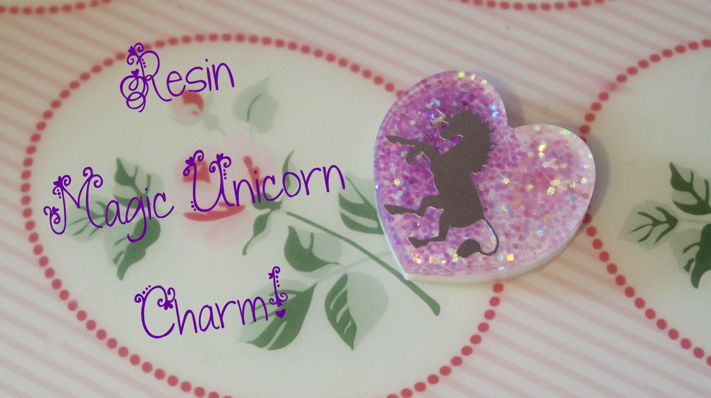DIY Resin Tutorial: Fantasy Unicorn Charm! ♞