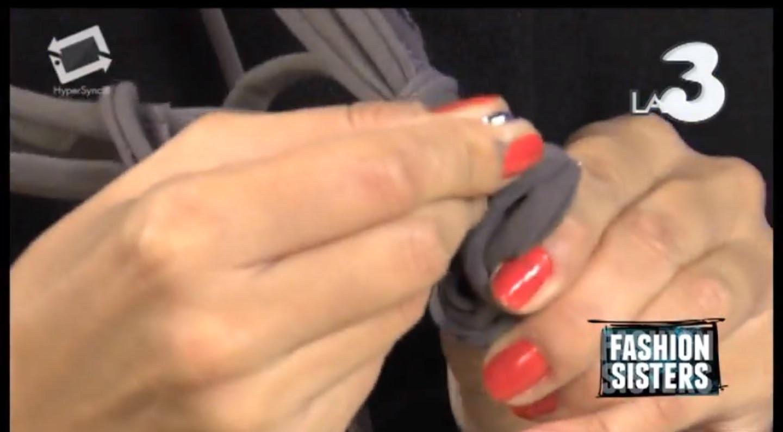 Fashion Sisters - Come fare delle collane di cotone (tutorial)