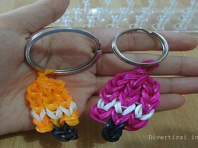 Ghiaccioli portachiavi con elastici