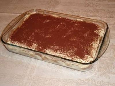 TIRAMISU' : La ricetta del mese